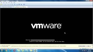How to install VMware and Configure with SAP