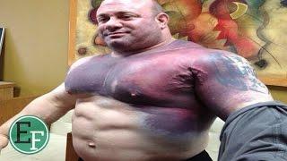 getlinkyoutube.com-8 لاعبي كمال اجسام انفجرت عضلاتهم