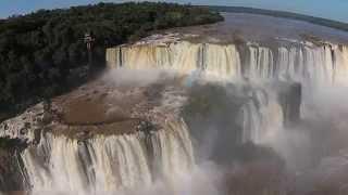 getlinkyoutube.com-Iguazu Falls – Flythrough with a Phantom Drone