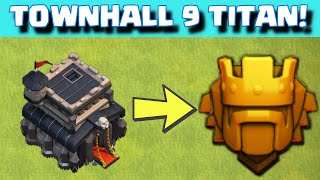 getlinkyoutube.com-Clash of Clans TOWN HALL 9 TITAN LEAGUE ATTACK STRATEGY + Base Layout | Quest to 4000 Continues