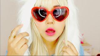 getlinkyoutube.com-BLONDE MAKEUP ♥ miku