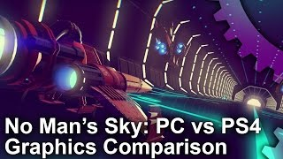 No Man's Sky - PC vs PS4 Graphics Comparison
