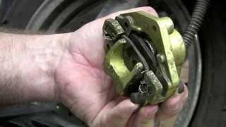 getlinkyoutube.com-How to replace scooter disc brake pads from RAC handbook series