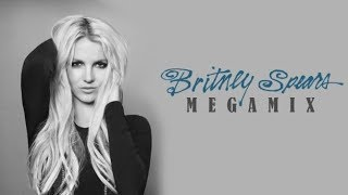 getlinkyoutube.com-Britney Spears • Tribute Megamix 2017