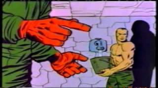 getlinkyoutube.com-Capitan America - La fantastica origine del Teschio Rosso Marvel Cartoon