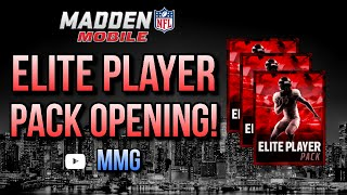 getlinkyoutube.com-Elite Player Pack Opening! :- Madden Mobile 16