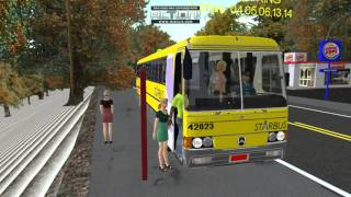 getlinkyoutube.com-OMSI 2 - Ônibus fictício By WSN [Sem download, em construção]