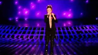 getlinkyoutube.com-Cher Lloyd sings Everytime for survival  - The X Factor Live Semi-Final Results (Full Version)