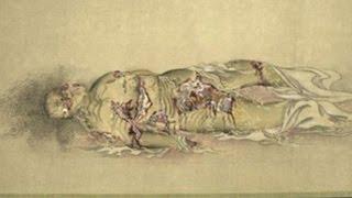 getlinkyoutube.com-【閲覧注意】江戸時代の遊女が徐々に腐敗していく様子を描いた絵(九相図)がヤバイ Japanese Buddhist picture
