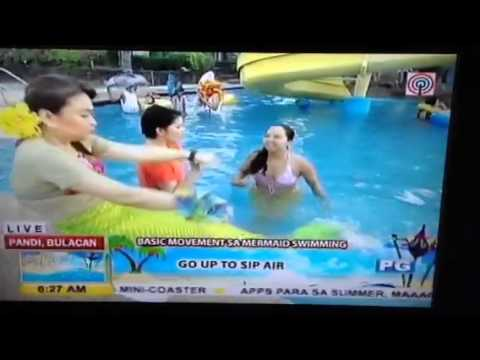 Mermaids on Umagang Kay Ganda Summer kick off 2014