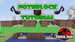 "getlinkyoutube.com-Jurassic Park Doorbell -  Note Block ""Tutorial"" (Minecraft Xbox/Ps3)"