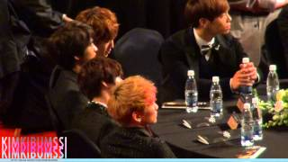 [HD fancam] 121119 대중문화예술상- SHINee table 4