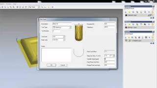 getlinkyoutube.com-Artcam 2008 3D işleme