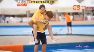 getlinkyoutube.com-Kim Jong Kook/Song Ji Hyo (Spartace Moments) - You & I [Preview]