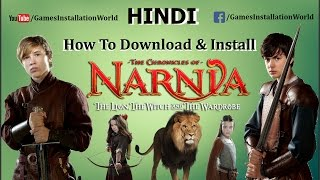 How To Download & Install The Chronicles Of Narnia In HINDI