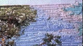 getlinkyoutube.com-Вышивка крестиком, Как не надо вышивать! Ошибки при вышивании