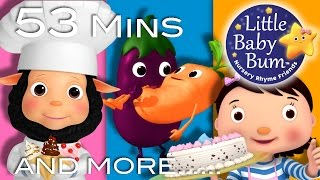 Food Songs | Part 2 | Plus Lots More Nursery Rhymes | 53 Minutes Compilation from LittleBabyBum!