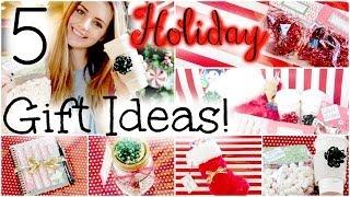 getlinkyoutube.com-5 Easy & Affordable DIY Holiday Gift Ideas! | HauteBrilliance