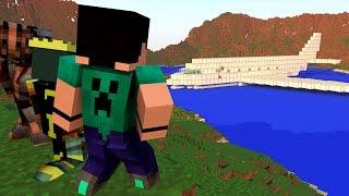 getlinkyoutube.com-Minecraft - QUEDA PARA O ALTO - #5 UM AVIÃO NO PASSADO?