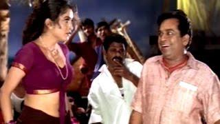 Ramya Krishnan &  Brahmanandam Comedy Scene     Simhadri Movie    N. T. R, Bhumika, Ankitha