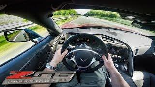 getlinkyoutube.com-Corvette Z06 ACCELERATION POV on AUTOBAHN 702HP by BBM Motorsport