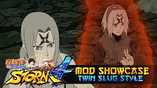 getlinkyoutube.com-Twin Slug Style Tsunade X Sakura!!! Naruto Shippuden Ultimate Ninja Storm 4 Mods