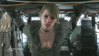 getlinkyoutube.com-All Quiet Skins & Costumes Metal Gear Solid 5 V: The Phantom Pain MGSV: TPP Sniper Wolf Grey Fox