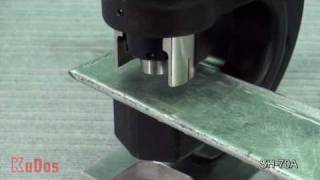 getlinkyoutube.com-KuDos® Hydraulic Power Puncher SH-70A
