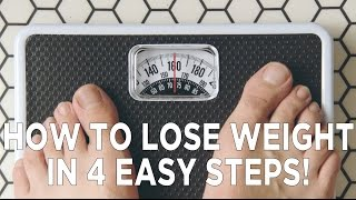 getlinkyoutube.com-How To Lose Weight in 4 Easy Steps!