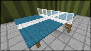 getlinkyoutube.com-Minecraft: Como fazer uma Mesa de Ping Pong