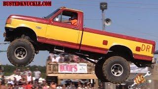REDNECK TRUCK JUMPS GONE WILD