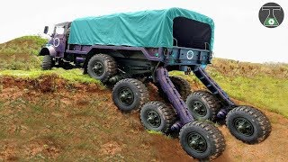 8 Amazing Monster Machines On Earth!