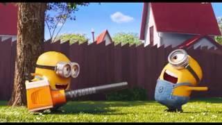 getlinkyoutube.com-Миньоны против газона трейлер 2016 мультфильм