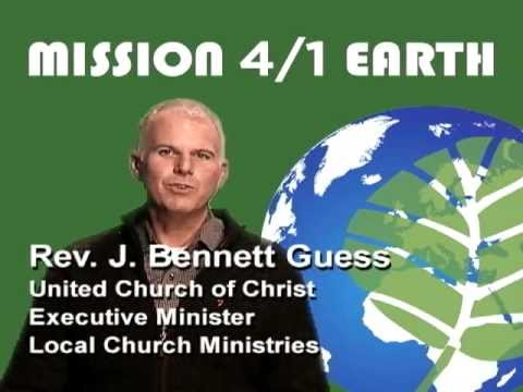 Invitation to Mission 4/1 Earth from the United Church of Christ