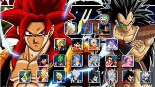 getlinkyoutube.com-Dragon Ball Fierce Fighting 2.9 - Goku-Vegeta (Super Saiyan 4) Vs Raditz