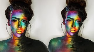 getlinkyoutube.com-Makeup Forever Inspiration Body Paint