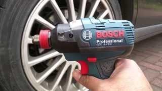 getlinkyoutube.com-Bosch GDX18V-EC IDH182 Hybrid Impact Driver / Wrench Maximum Torque Test