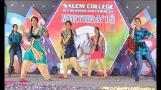 Girls Group Dance   Tamil Songs   Original vs Remix