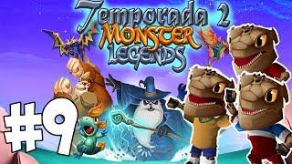 getlinkyoutube.com-Monster Legends T2 - Capitulo 9 - Los futbolistas me dejan sin voz