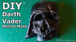 getlinkyoutube.com-DIY Darth Vader's Melted Mask
