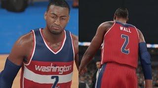 getlinkyoutube.com-NBA 2K16 PS4 Play Now - Blown Self Lob!