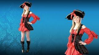 Adult Sexy Vixen Pirate Costume