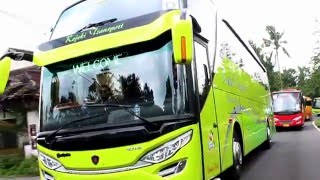 "getlinkyoutube.com-Review Rejeki Transport Jogjakarta "" You Can Dancing In The Bus"" SCANIA K310 SHD Adi Putro"