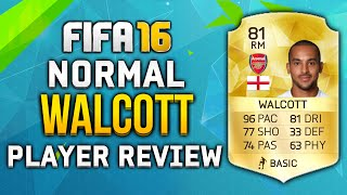 getlinkyoutube.com-FIFA 16 Walcott Review (81) W/ In Game Stats! - Fifa 16 Player Review