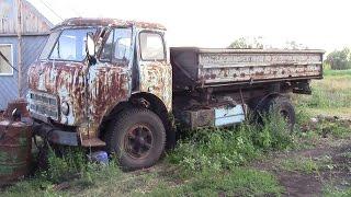 getlinkyoutube.com-МАЗ 500,переделанный в колхозник,продолжение