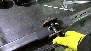 getlinkyoutube.com-Самодельная стойка для дрели и перфоратора.  Home-made frame for drill