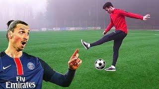 getlinkyoutube.com-Zlatan Ibrahimovic Flick Up Tutorial - Learn Football Skills