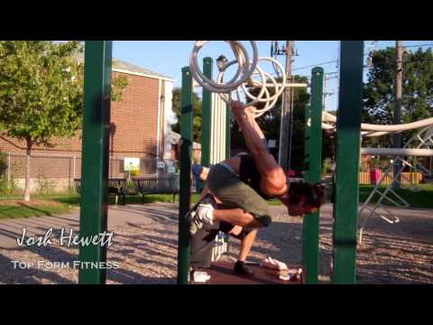 Calisthenics with Kane - Muscle Ups and Human Flag
