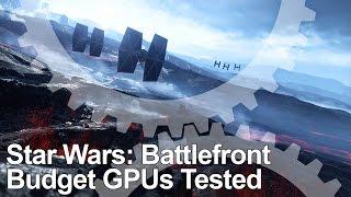 getlinkyoutube.com-Star Wars Battlefront PC Budget GPU Testing/Tweaking: GTX 750 Ti, GTX 950, R7 360, R7 370