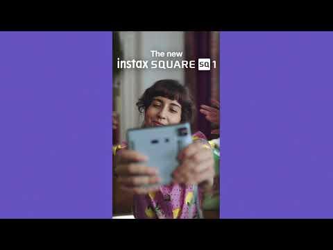 Fujifilm Instax Square SQ1 Camera - Glacier Blue